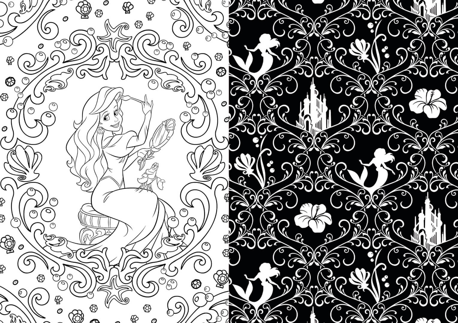Enjoy some art therapy with Disney coloring books for ...
