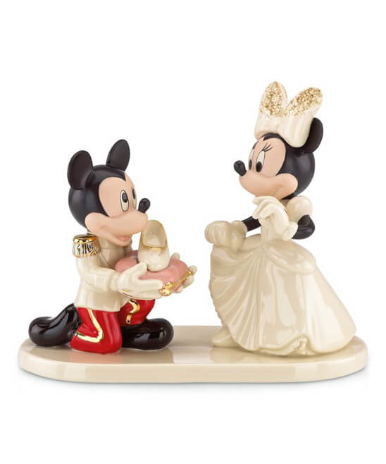 wedding cake toppers disney disney figurines by lenox on at zulily inside the magic 8820