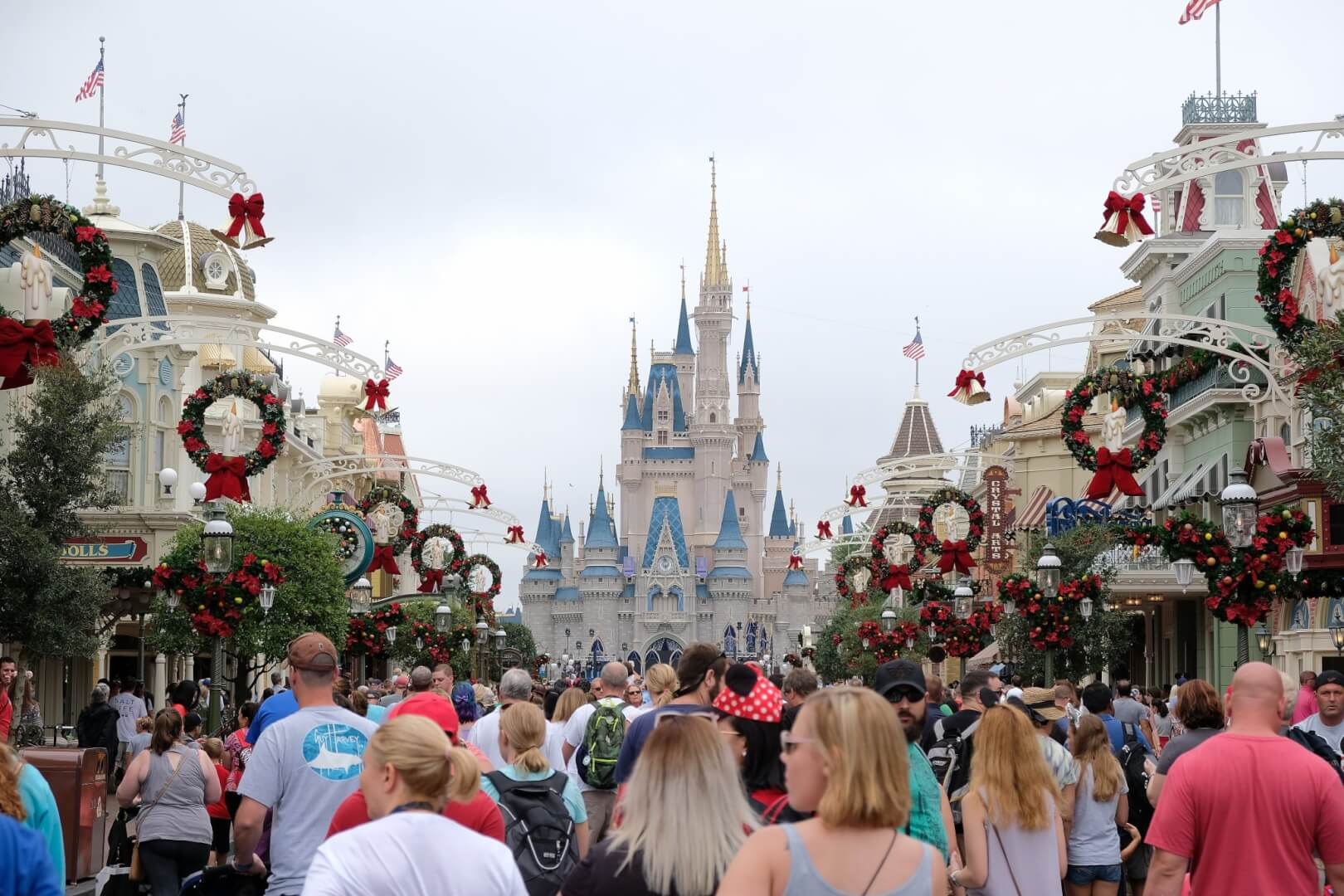 when do they take down christmas decorations at disney